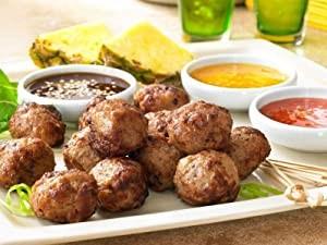 Caramelized Onion Chicken Meatballs